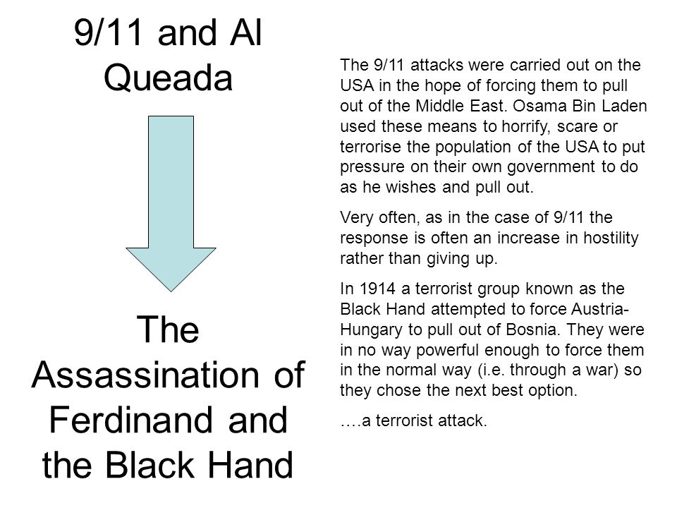 The Assassination of Ferdinand and the Black Hand