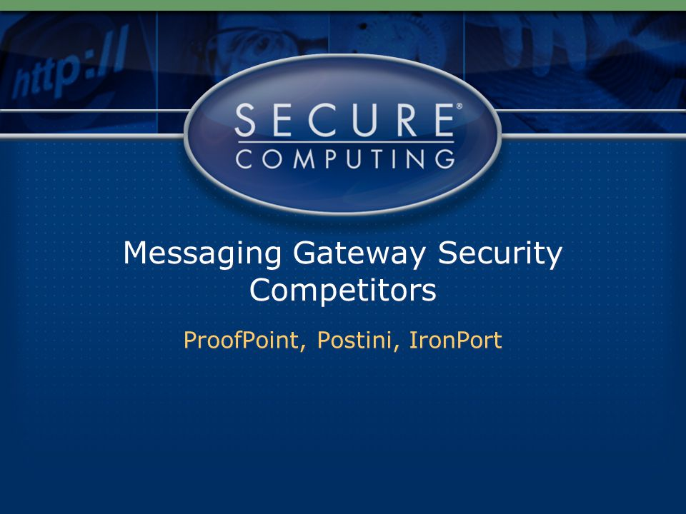 Messaging Gateway Security Competitors