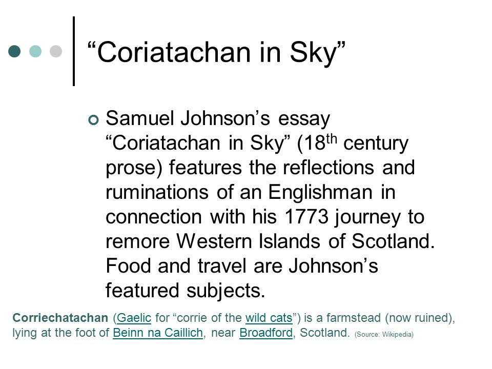 Coriatachan in Sky