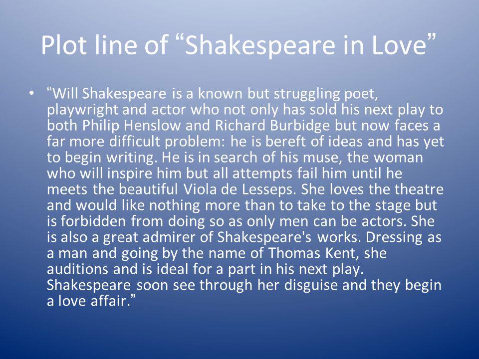 Plot line of Shakespeare in Love