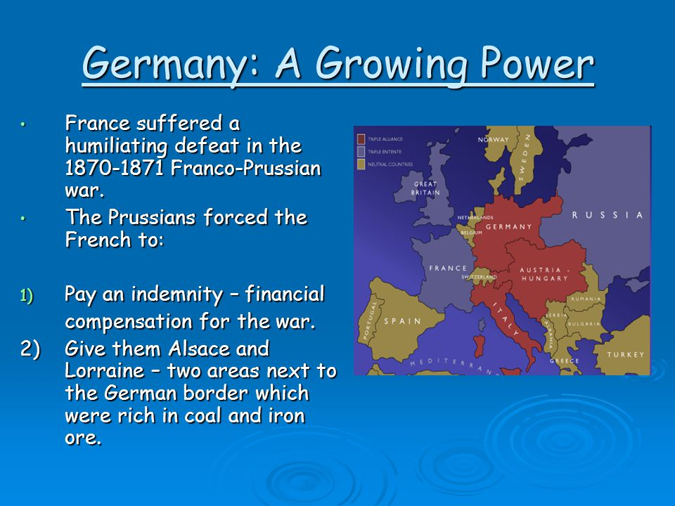 Germany: A Growing Power