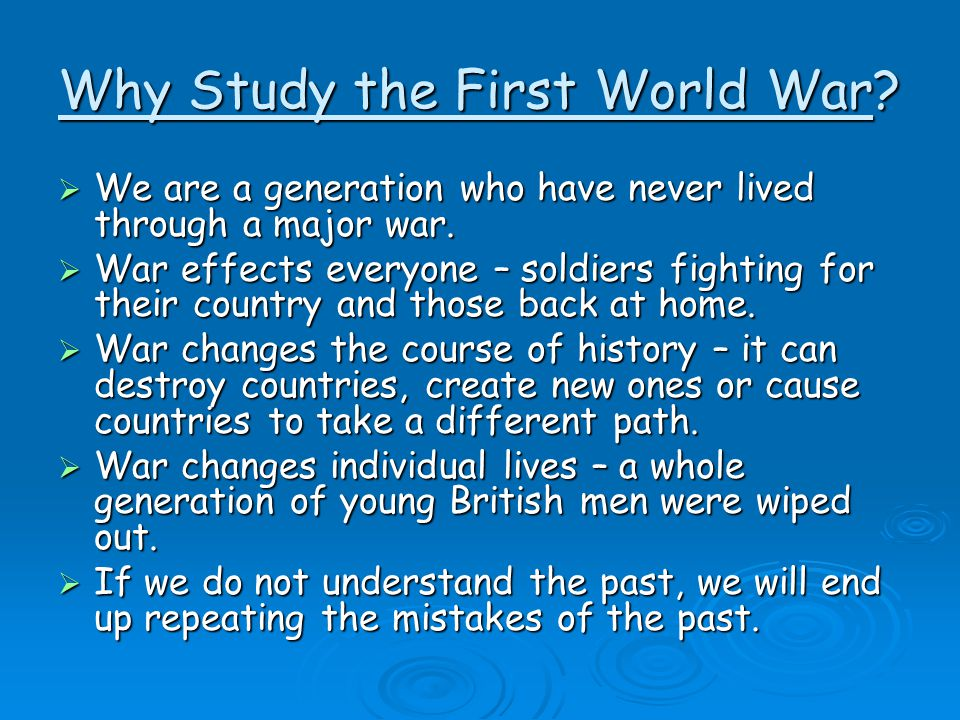 Cause of world war 2 essay