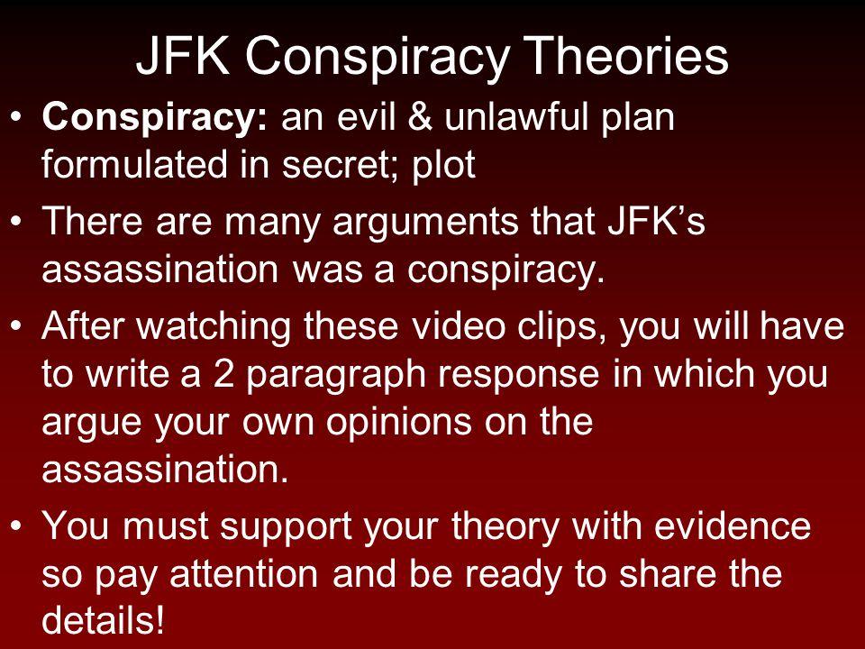 JFK Conspiracy Theories