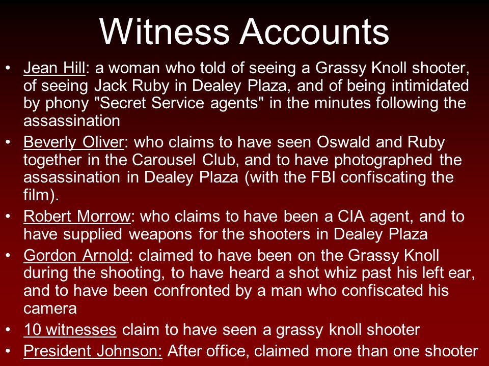 Witness Accounts