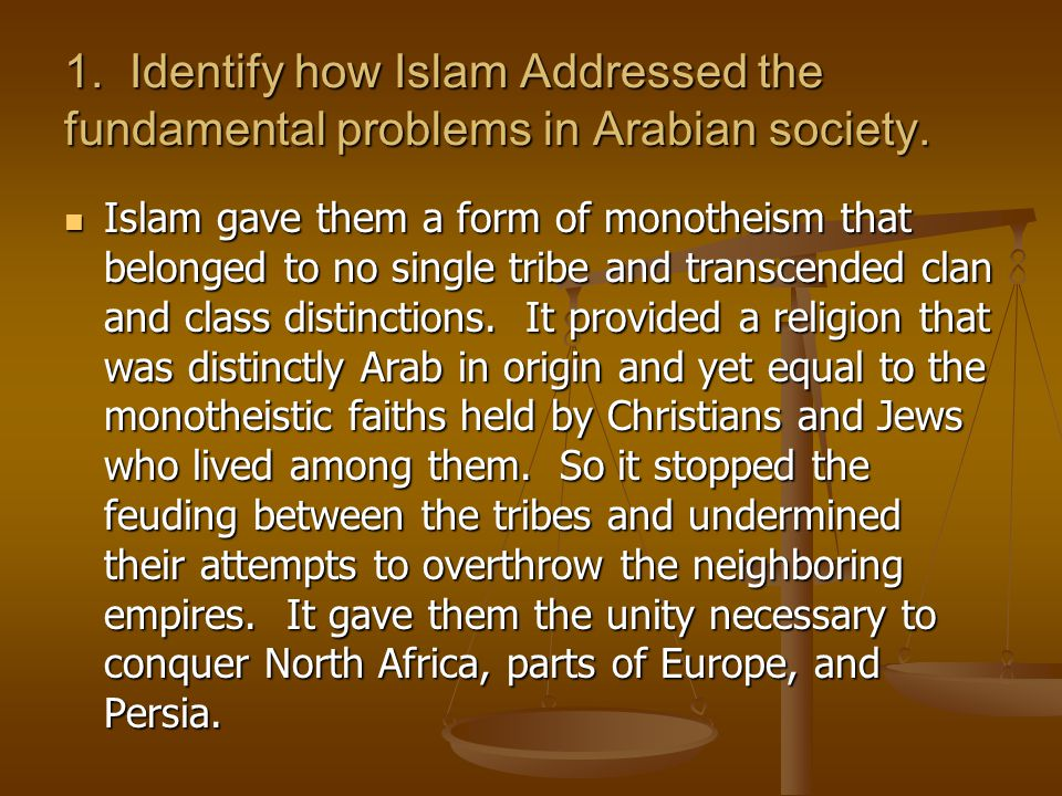 whap muhammad and muslim societies Describe the nature of bedouin society before muhammad received his  women in other contemporary societies  ships led to the first muslim invasion.