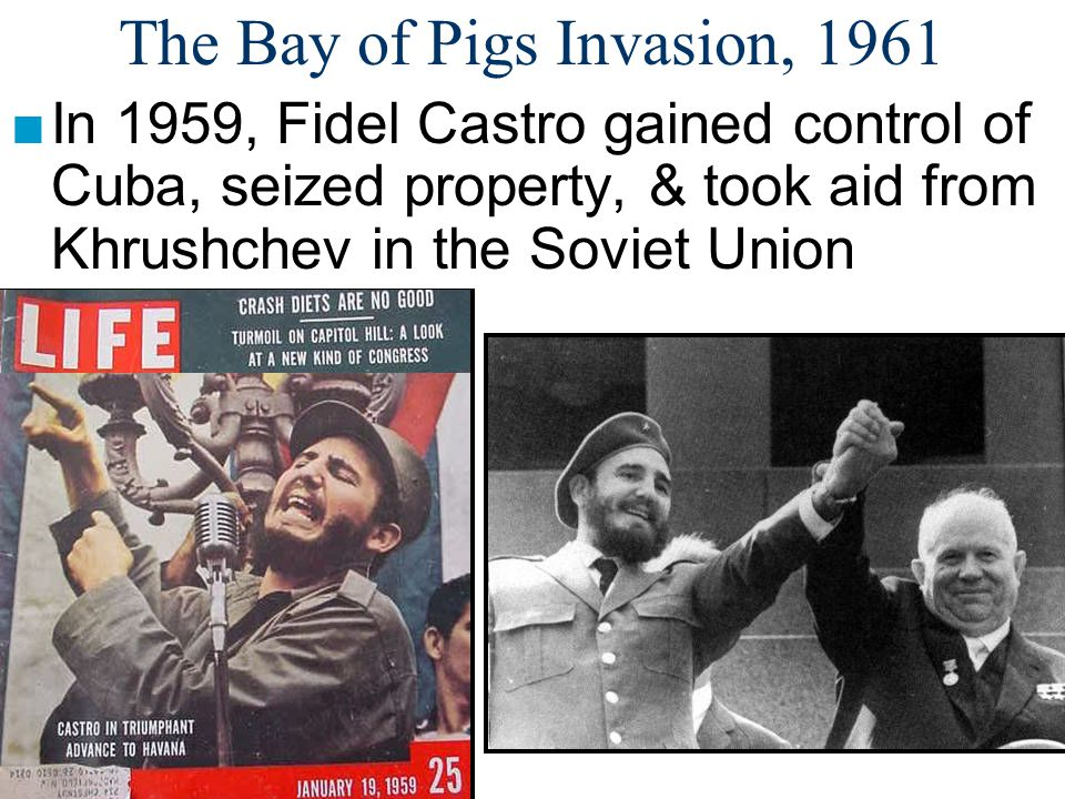 The Bay of Pigs Invasion, 1961