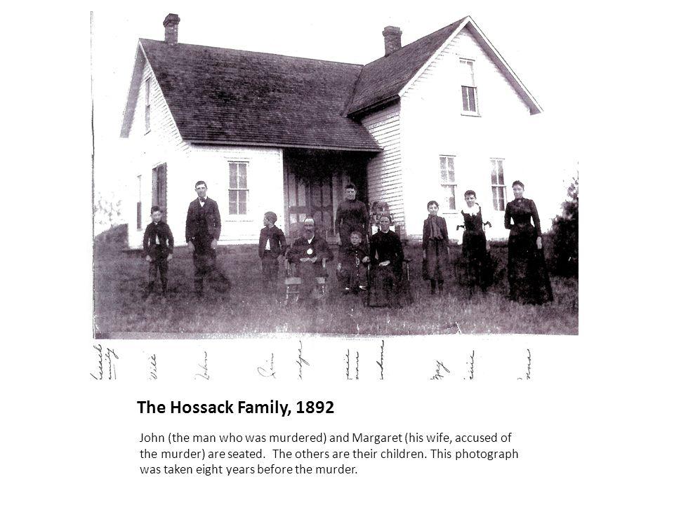 The Hossack Family, 1892