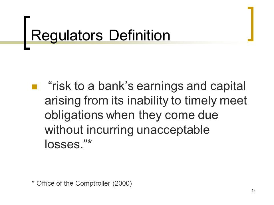 Regulators Definition