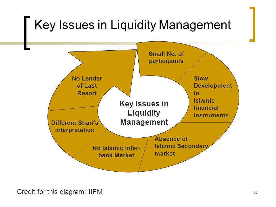 Key Issues in Liquidity Management