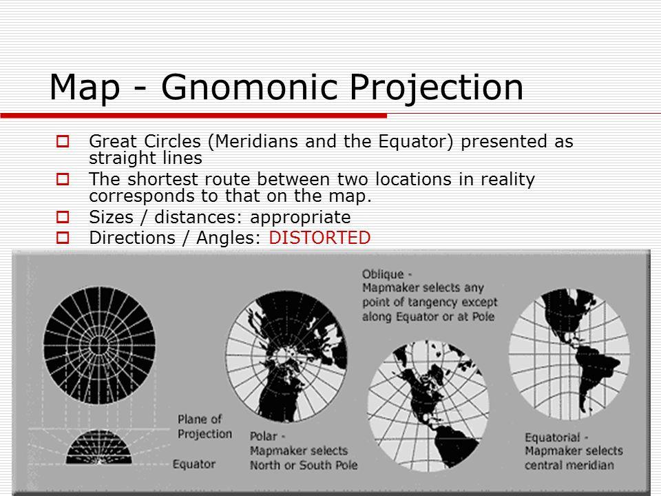 Map - Gnomonic Projection
