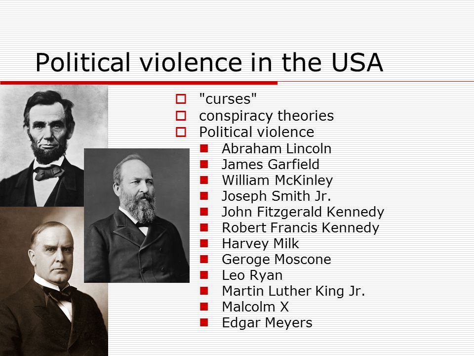 Political violence in the USA