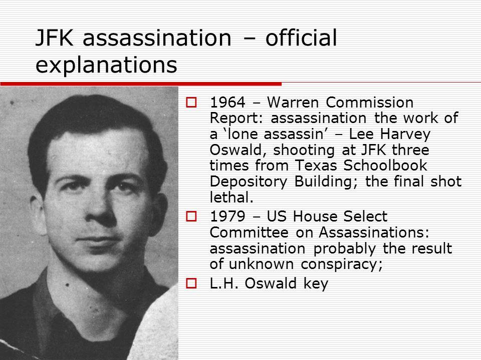 JFK assassination – official explanations