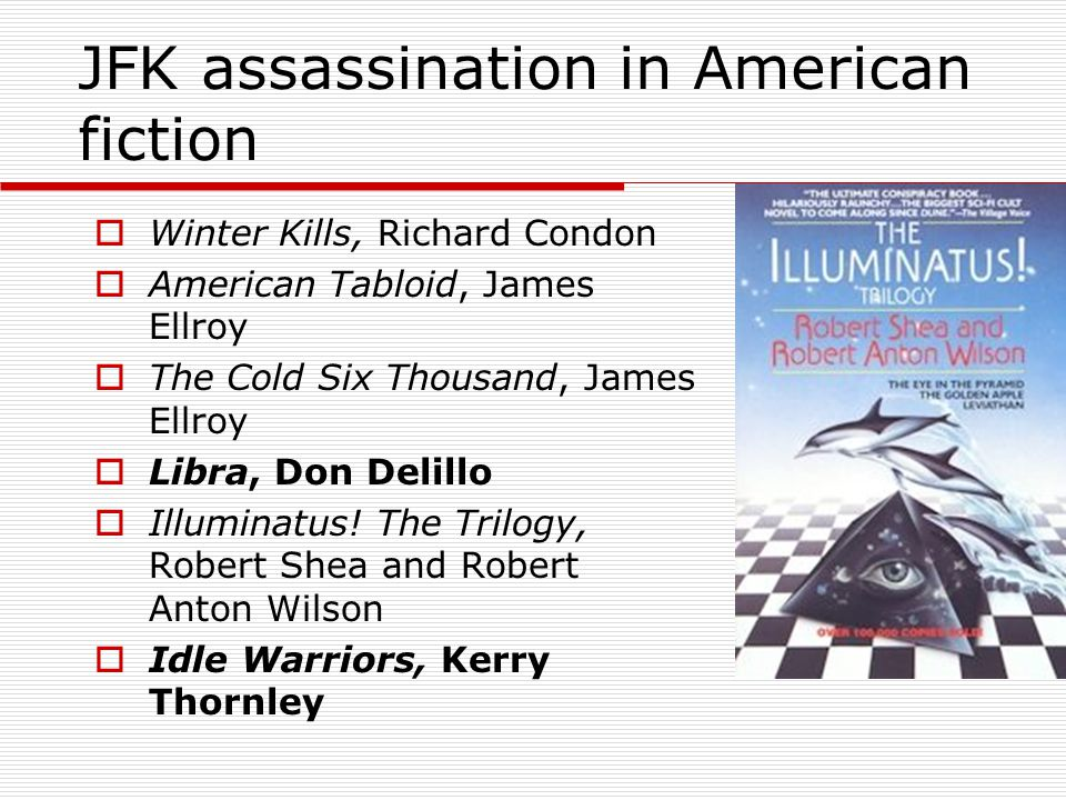 JFK assassination in American fiction