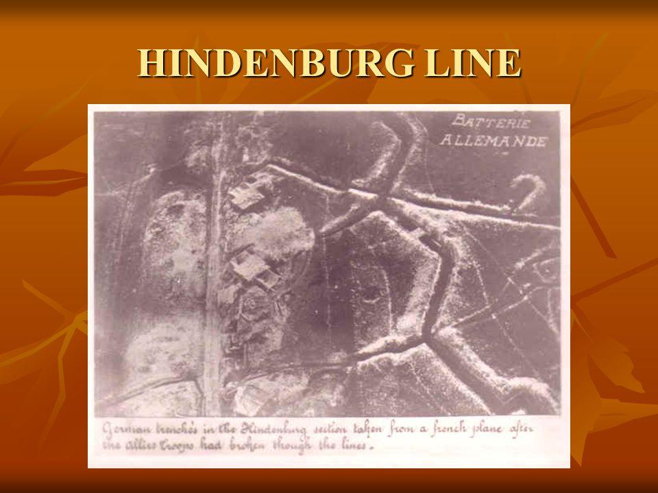 HINDENBURG LINE