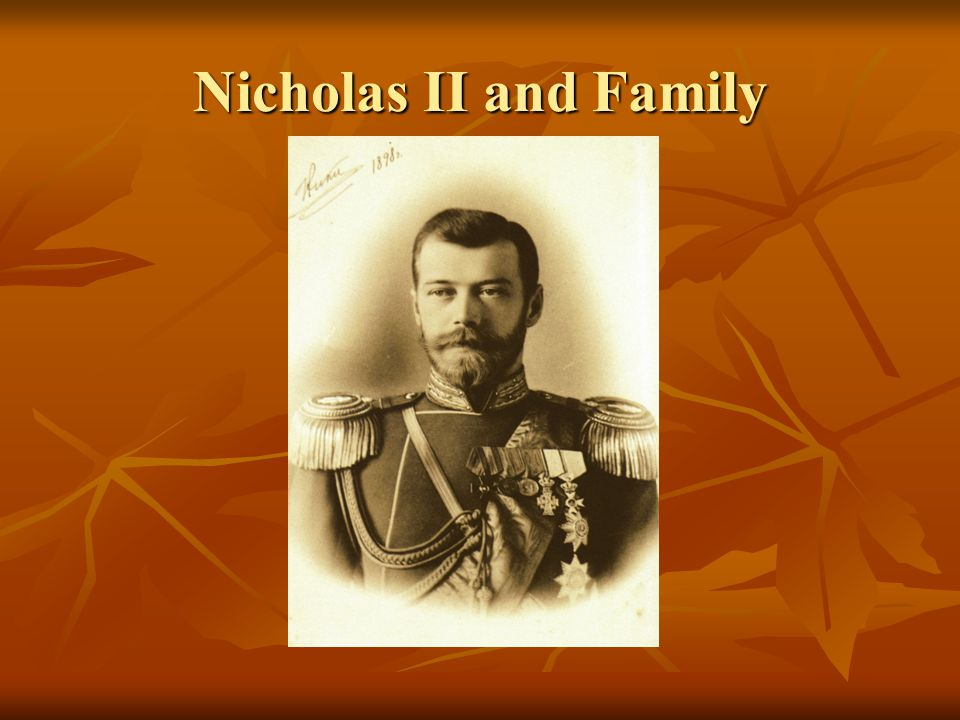 Nicholas II and Family