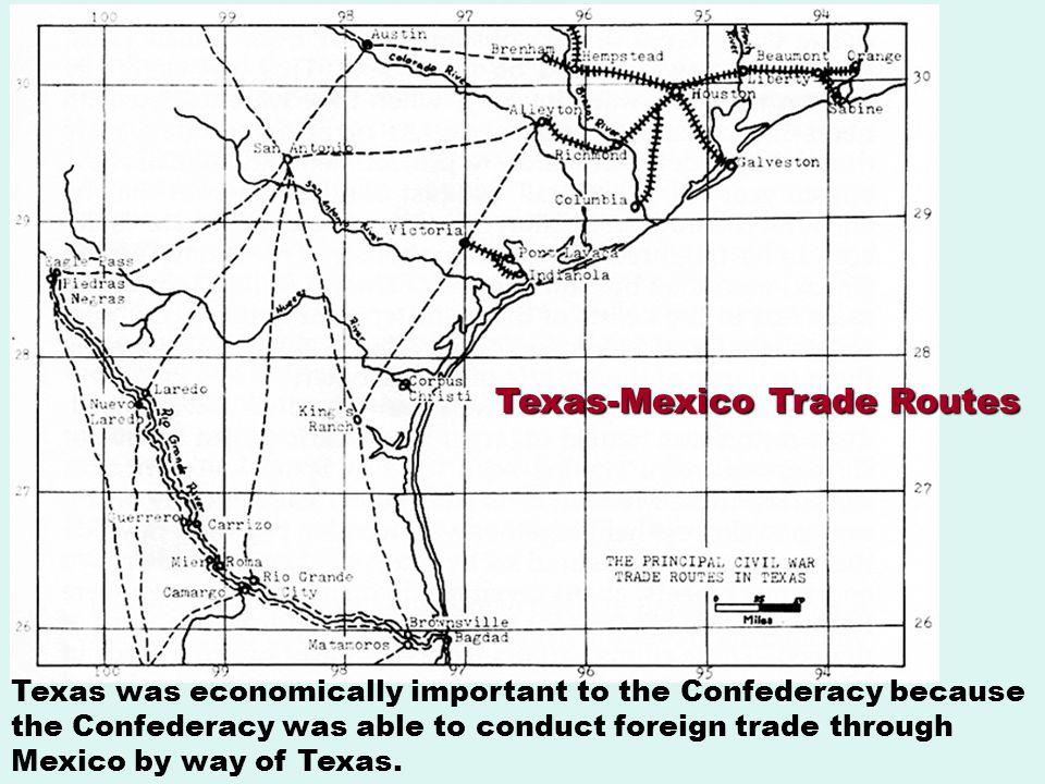 Texas-Mexico Trade Routes