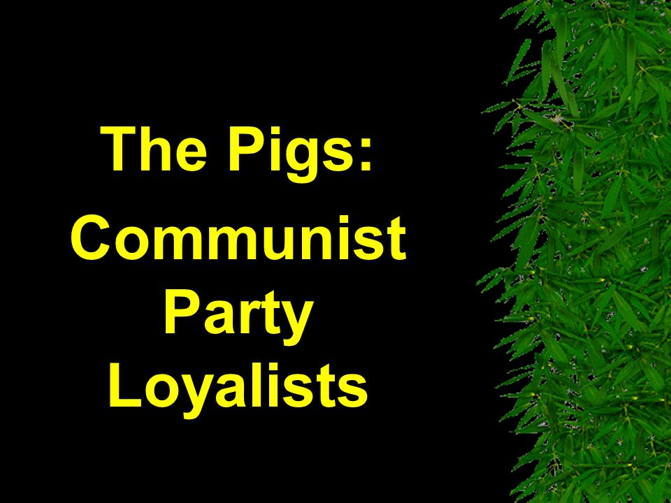 The Pigs: Communist Party Loyalists
