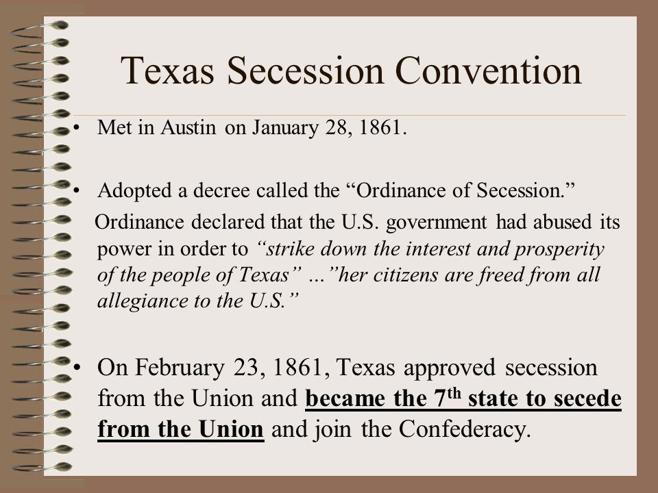 Texas Secession Convention
