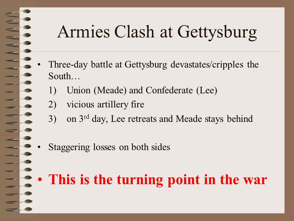 Armies Clash at Gettysburg