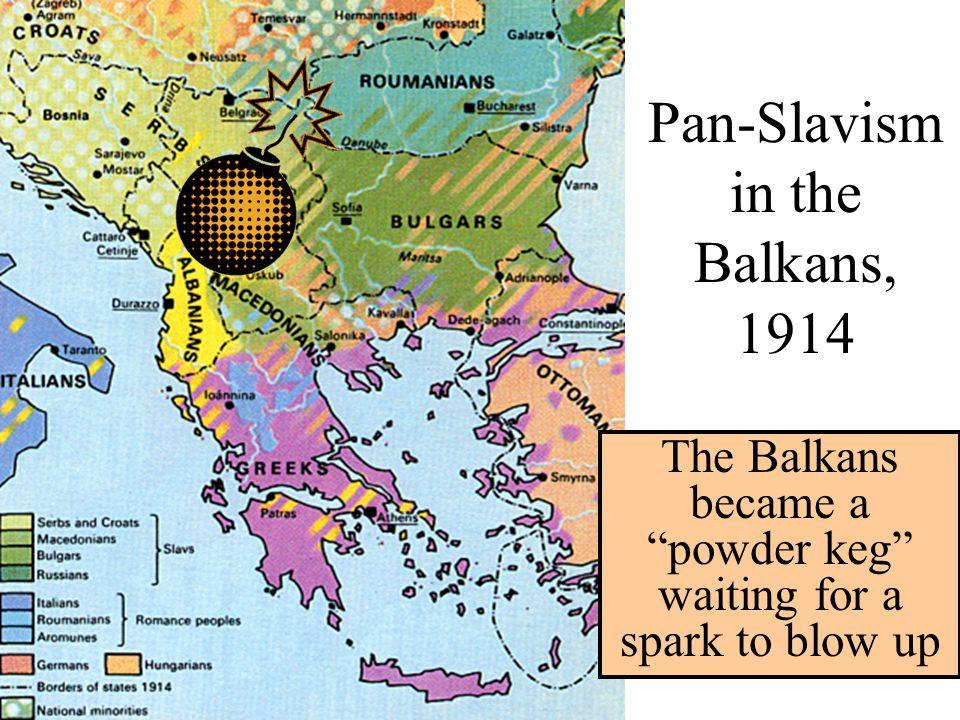 Pan-Slavism in the Balkans, 1914