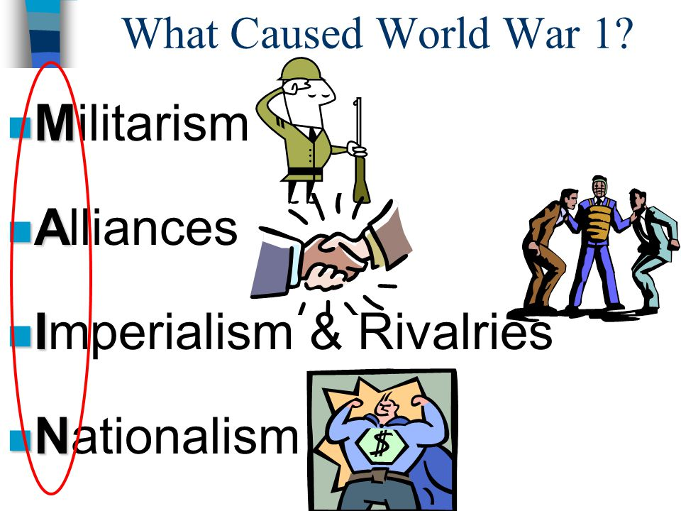 Imperialism & Rivalries Nationalism