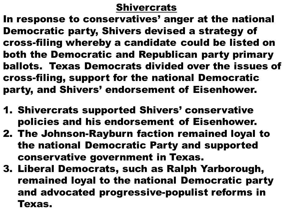 Shivercrats
