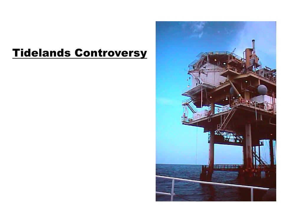 Tidelands Controversy