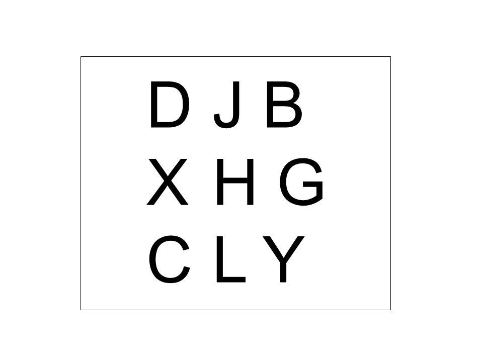 D J B X H G C L Y