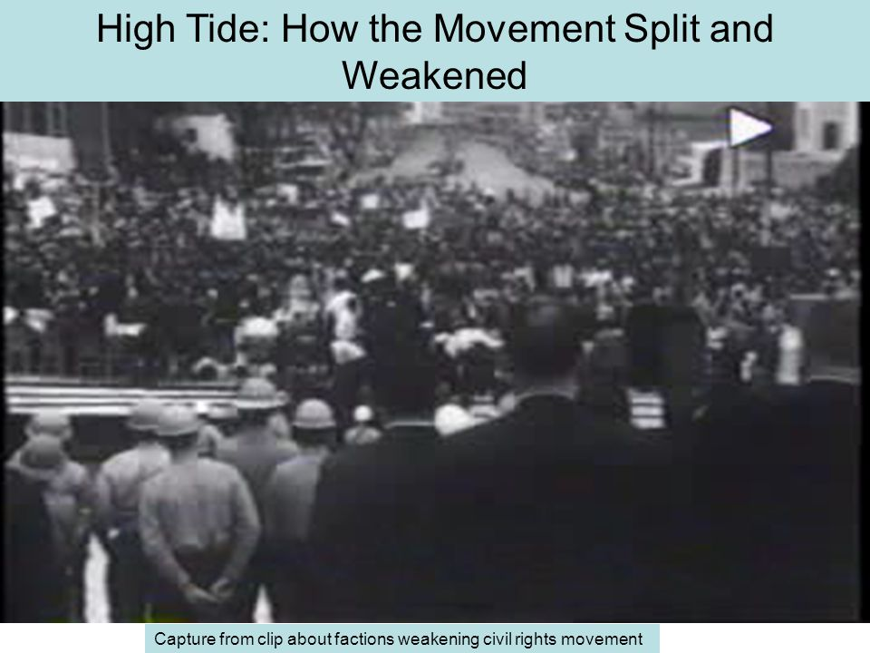High Tide: How the Movement Split and Weakened
