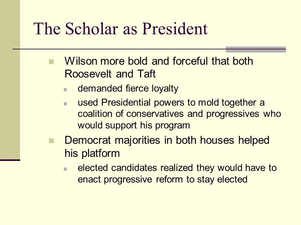 The Scholar as President