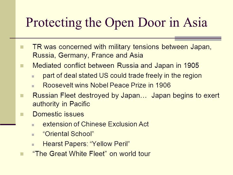 Protecting the Open Door in Asia