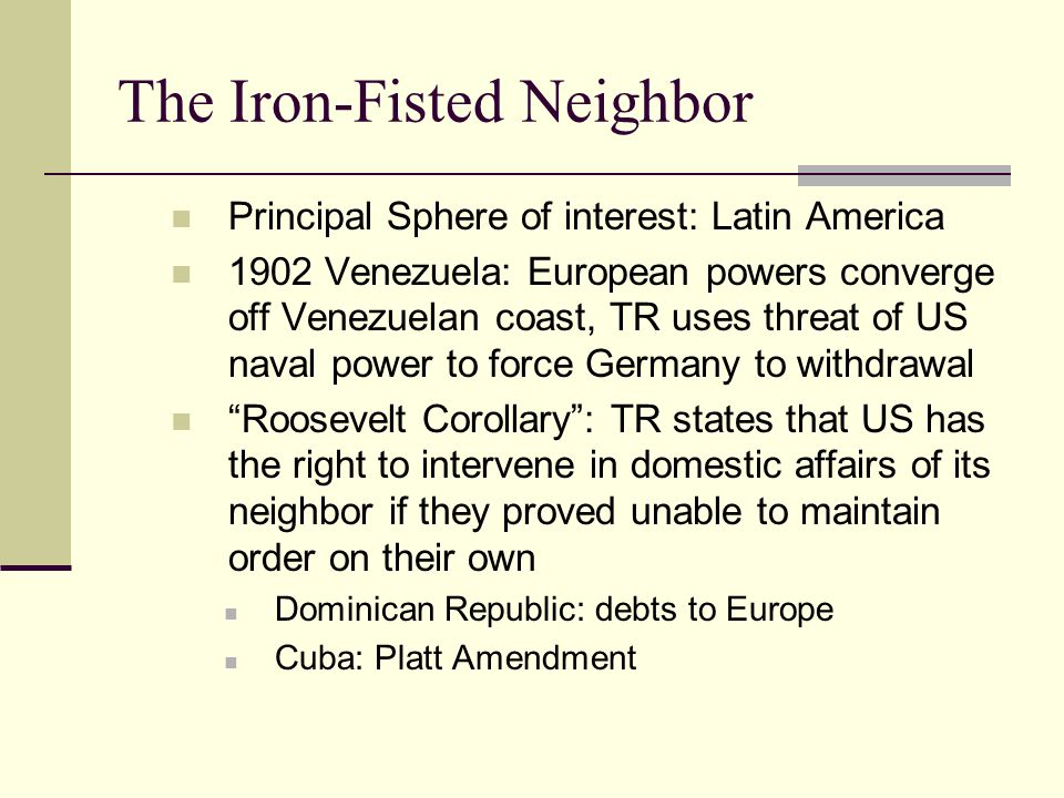 The Iron-Fisted Neighbor
