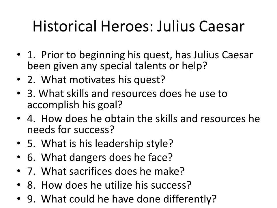 Historical Heroes: Julius Caesar