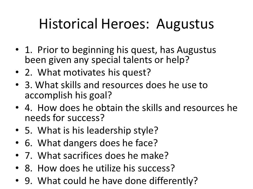 Historical Heroes: Augustus