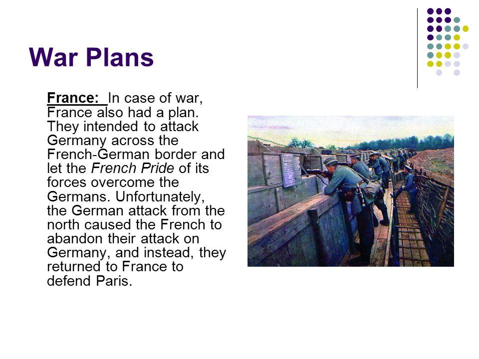 War Plans
