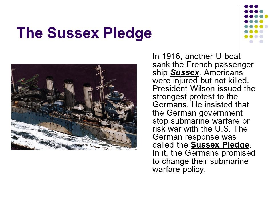 The Sussex Pledge