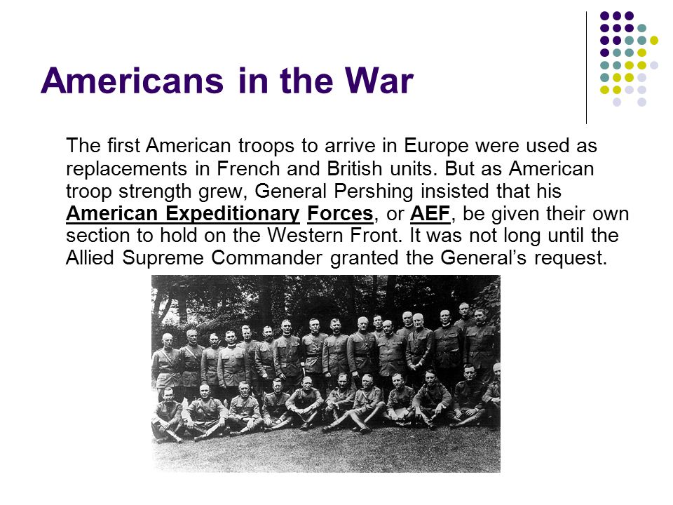 Americans in the War
