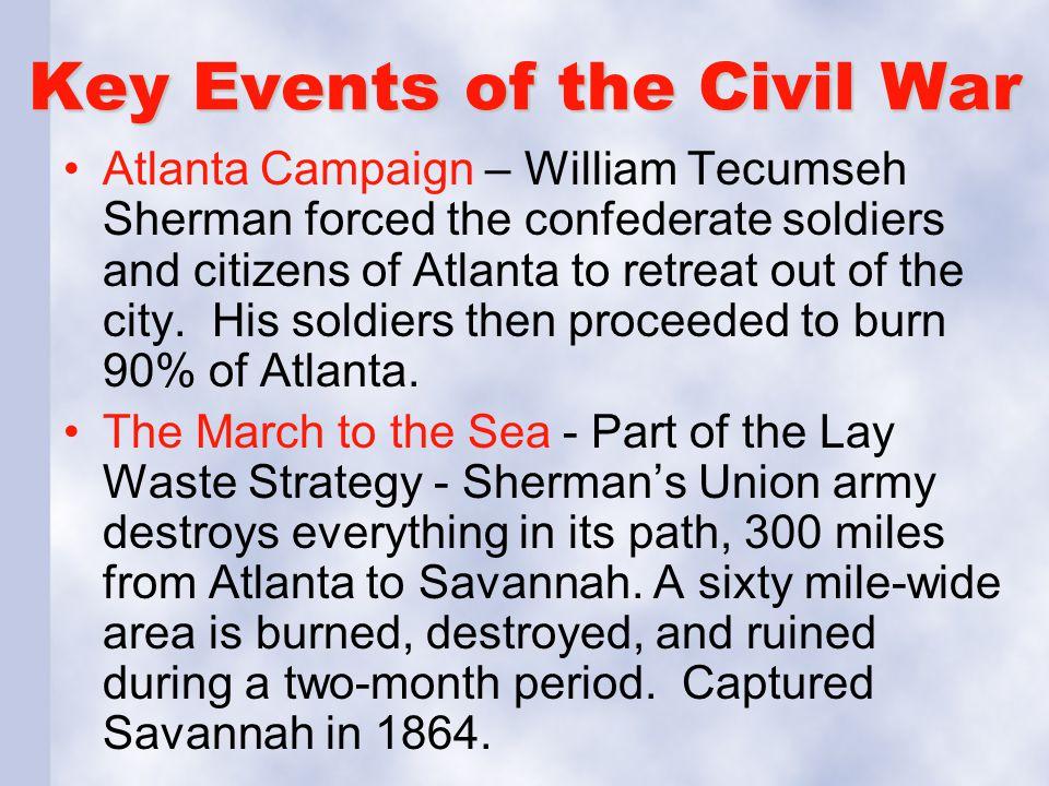 Key Events of the Civil War