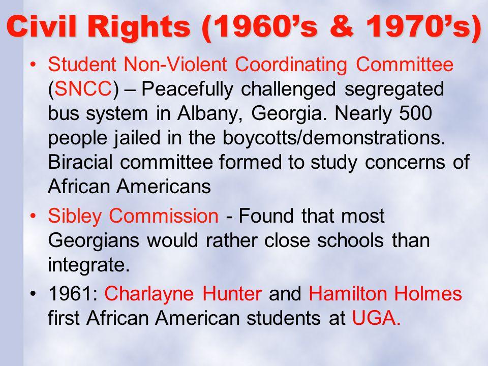 Civil Rights (1960's & 1970's)