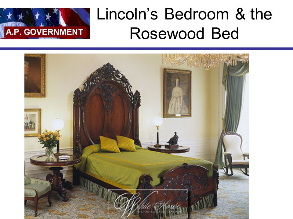 Lincoln's Bedroom & the Rosewood Bed