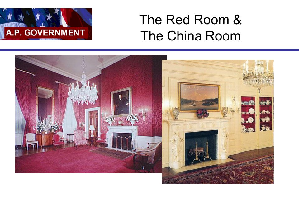 The Red Room & The China Room