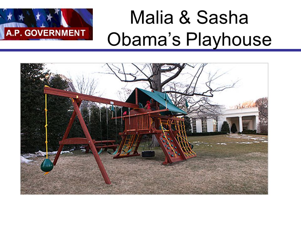 Malia & Sasha Obama's Playhouse