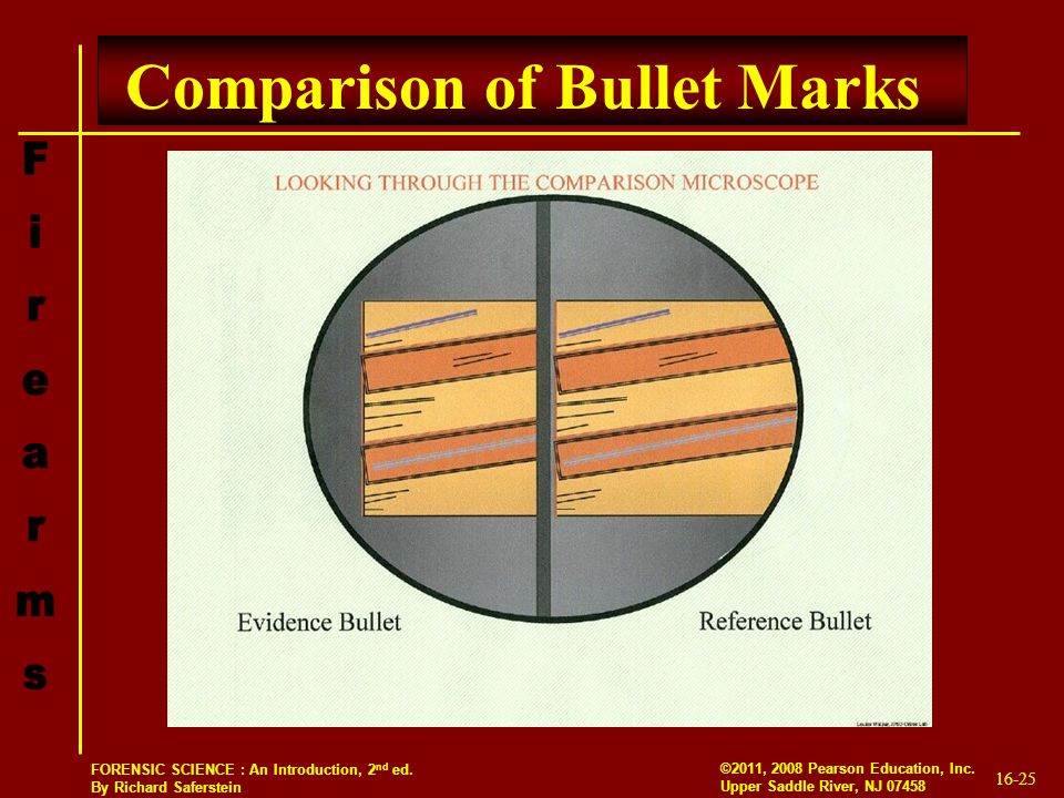 Comparison of Bullet Marks
