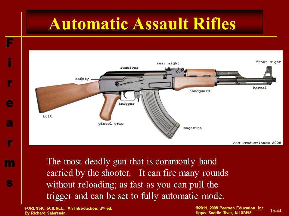 Automatic Assault Rifles