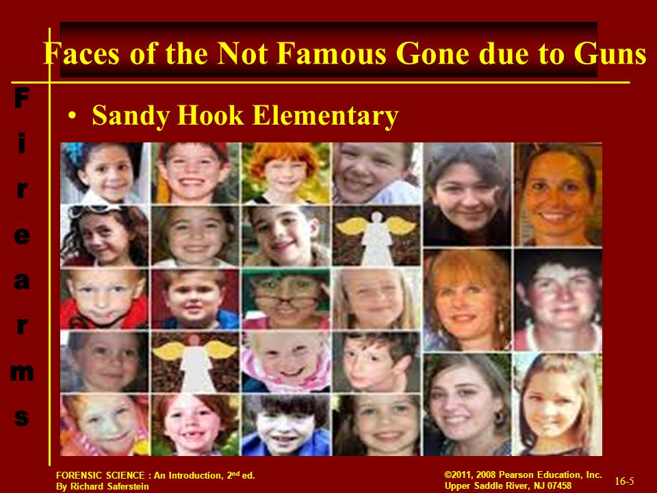 Faces of the Not Famous Gone due to Guns