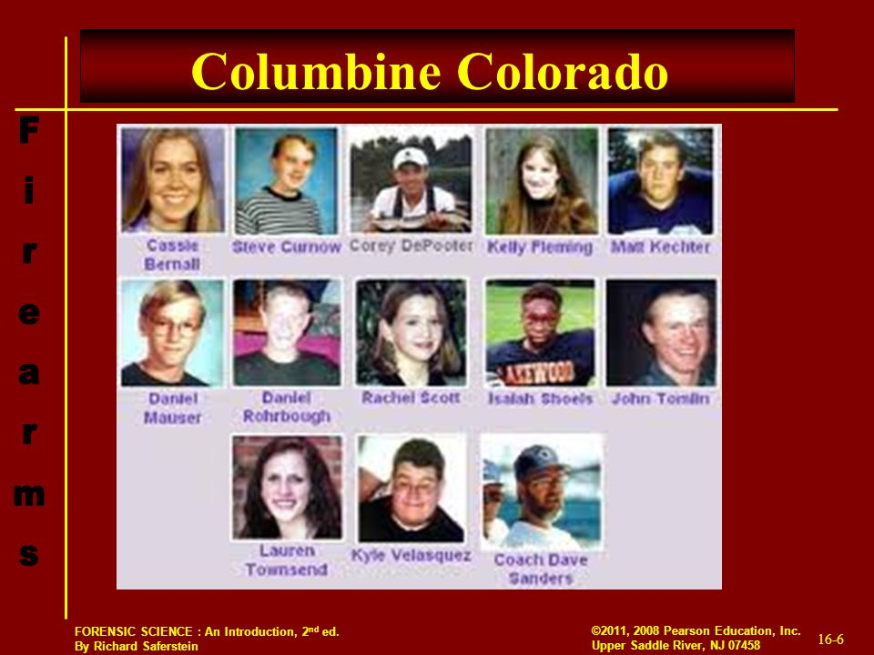 an introduction to the causes for the columbine and virginia tech massacres Andrew gumbel, who reported on the aftermath of the columbine massacre, explains what really happened that day - and why  the swat teams at virginia tech did not hesitate for an instant.