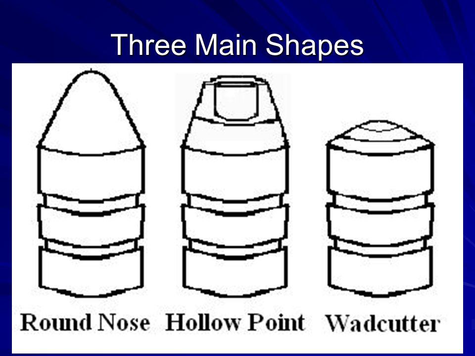 Three Main Shapes