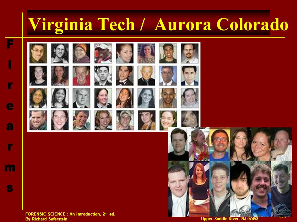 Virginia Tech / Aurora Colorado