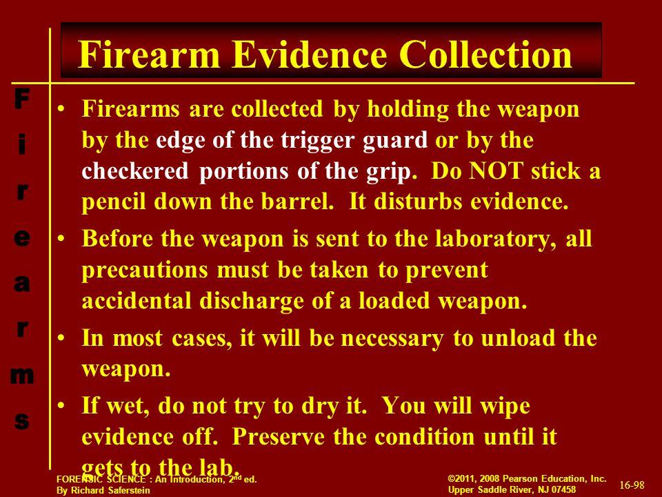 Firearm Evidence Collection