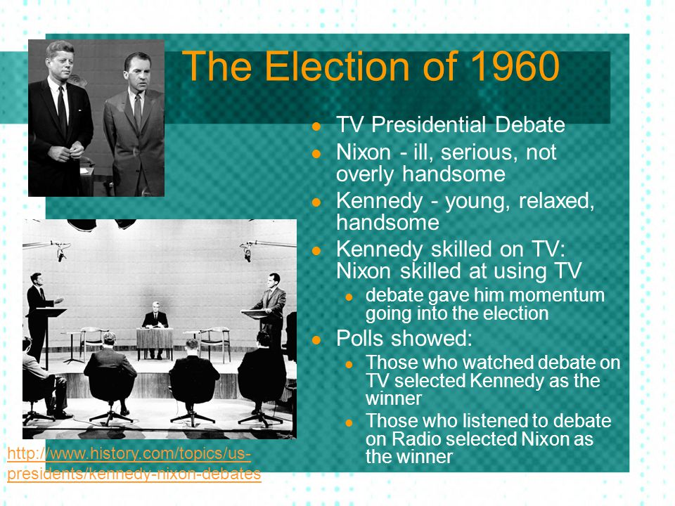 The Election of 1960 TV Presidential Debate